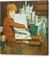 The Toy Castle Canvas Print