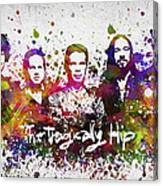 The Tragically Hip In Color Canvas Print