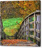 The Trail Arches On Canvas Print