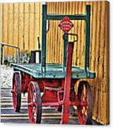 The Train Cart Canvas Print