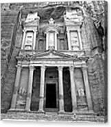 The Treasury At Petra Canvas Print