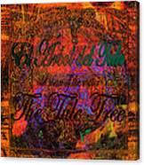 The Tree Of Tule   Canvas Print