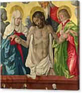 The Trinity And Mystic Pieta Canvas Print