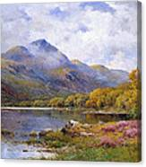 The Trossachs Ben  Canvas Print