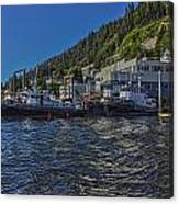 The Tugs In Ketchikan Canvas Print