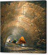 The Tunnel, From Coloured View Canvas Print