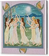 The Twelve Dancing Princesses Canvas Print