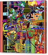 The Tzaddik Lives On Emunah 3 Canvas Print
