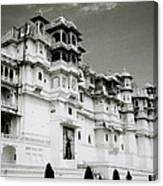 The Udaipur City Palace  Canvas Print
