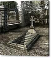 The Un-grave Canvas Print