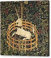 The Unicorn In Captivity Canvas Print