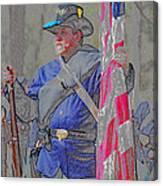 The Union Patriot Canvas Print