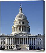 The United States Capitol Canvas Print
