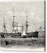 The United States Steam Corvette Niagara Canvas Print