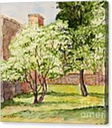 The University Of The South Campus Canvas Print
