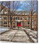 The University Of Wisconsin Education Building Canvas Print