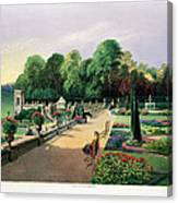 The Upper And Lower Terrace Gardens Canvas Print