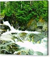 The Upper Paradise River Canvas Print