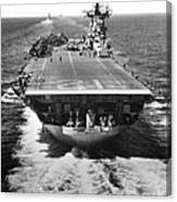 The U.s. Aircraft Carrier Uss Boxer Canvas Print