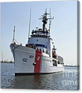 The U.s. Coast Guard Cutter Valiant Canvas Print