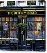 The Utterly Pissed Pub Canvas Print