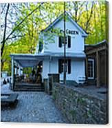 The Valley Green Inn On Forbidden Drive Canvas Print