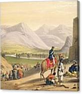 The Valley Of Maidan, From Sketches Canvas Print