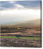 The Valleys In Wicklow Ireland Canvas Print