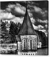 The Valve Tower Mono Canvas Print