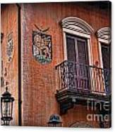 The Venetian Balcony Canvas Print