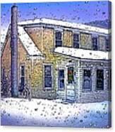 The Vermont Homestead Canvas Print