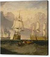 The Victory Returning From Trafalgar Canvas Print