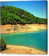 The View At Shasta Lake Canvas Print