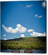 The View From Big Moose Inn Canvas Print