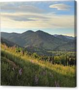 The View From Chautauqua Canvas Print