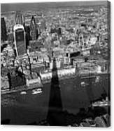 The View From The Shard II Canvas Print