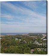 The View From The Top Of Currituck Beach Lighthouse  Canvas Print