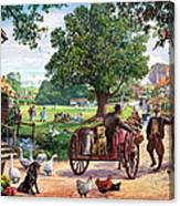 The Village Green Canvas Print