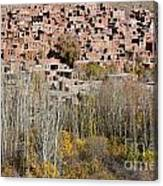 The Village Of Abyaneh In Iran Canvas Print