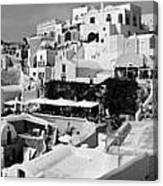 The Village Of Oia 2 Canvas Print