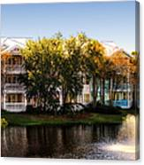 The Villas Of Walt Disney World Canvas Print