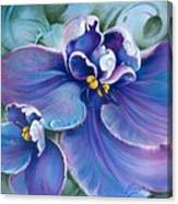 The Violet Canvas Print