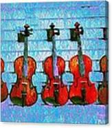 The Violin Store Canvas Print