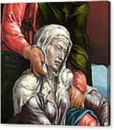 The Virgin And Saint John The Evangelist Canvas Print