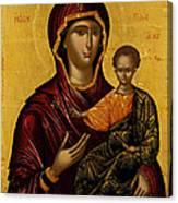 The Virgin Hodegetria Canvas Print