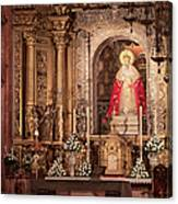 The Virgin Of Hope Canvas Print