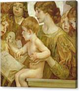 The Virgin Of The Angels Canvas Print