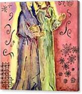 The Visitation Canvas Print