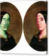The Vitruvian Sisters Canvas Print