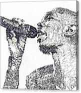 Maxi Jazz Canvas Print